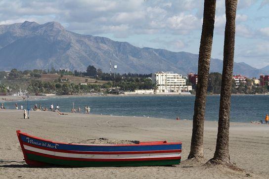 Playa en Estepona