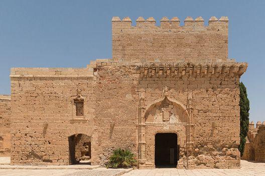 Tour de l'Hommage, Alcazaba, Almeria