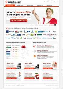 Acierto.com screenshot