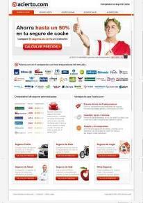 Acierto.com screenshot