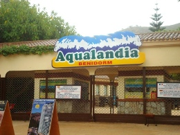 Aqualandia-entrance