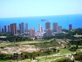 Benidorm-aerial-view