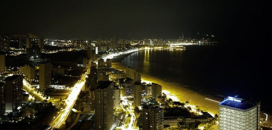 Benidorm-night
