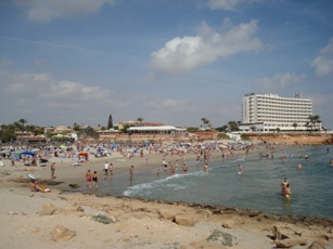 Map Of Javier Spain.Map Of La Zenia In Spain Street Map And Attractions
