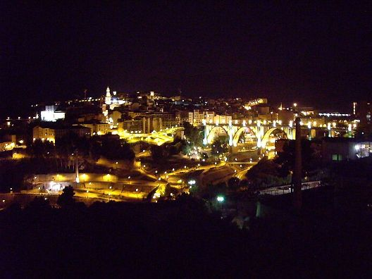 Alcoy at night