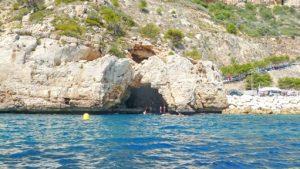 arches-cave-cala-moraig