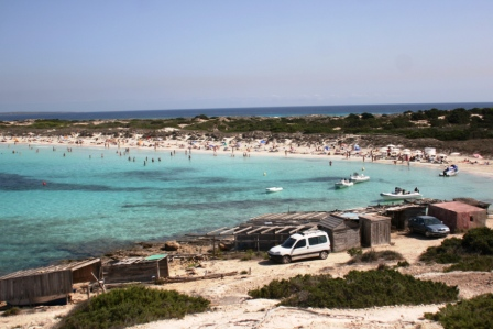 Hiring a Scooter on Formentera