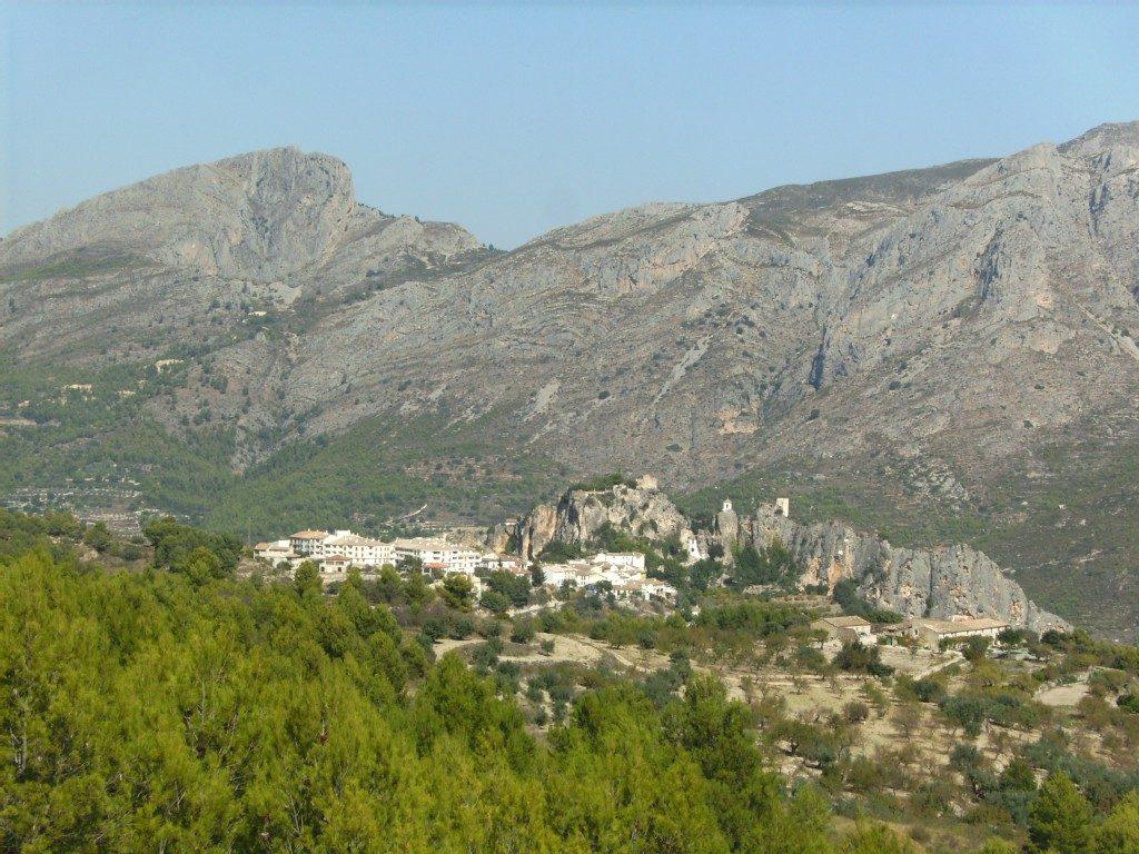 La Nucia mountain view