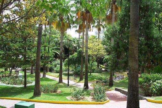 Park at Mirrador de Bellavista Street,Alhaurín de la Torre,Spain
