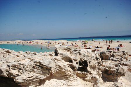 beach at Illetes