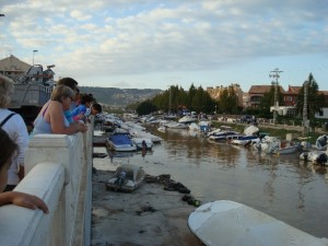 Gota Fria storm demolished boats in Javea