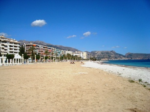 Altea-beachfront