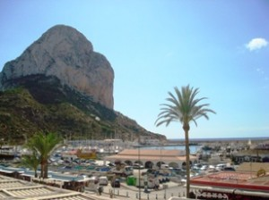 Calpe Map Street Map of Calpe Spain