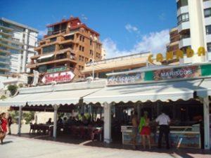 Calpe fish market