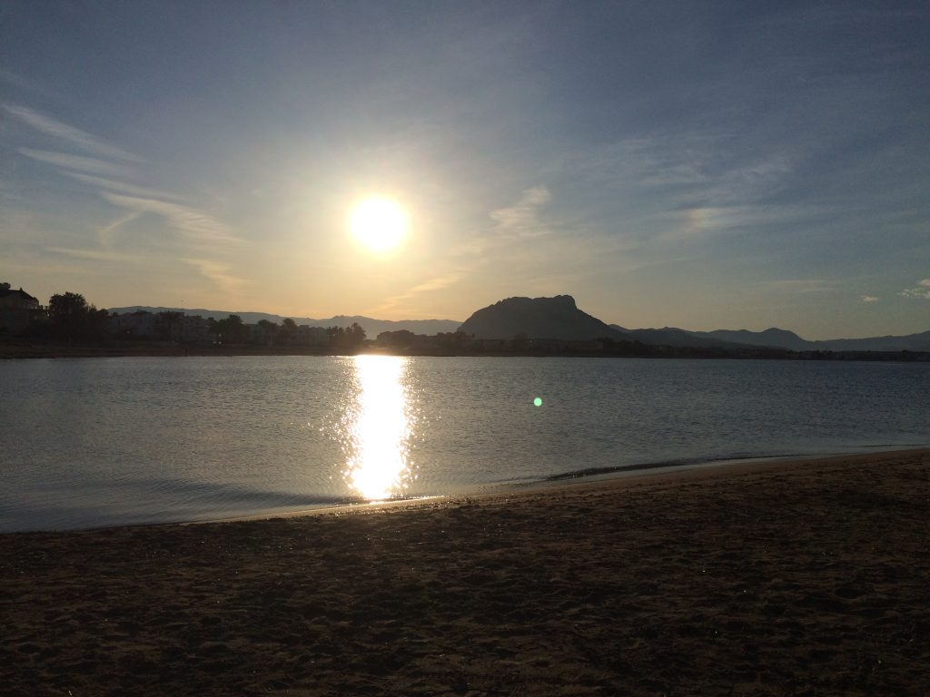 Denia, beach