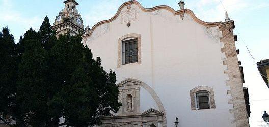Església de Santa Maria la Major d'Oliva, façana