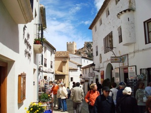 Guadalest-streets