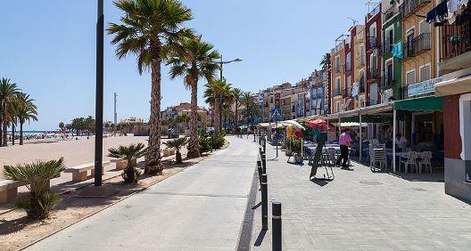Playa Centro, Villajoyosa, España