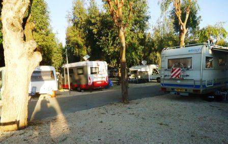 campsite-Benidorm
