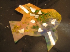 Archie age 4 made a paper fish