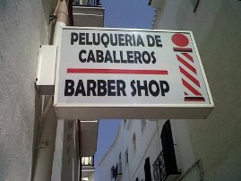 Barber Shop In Spanish : We list the best English-speaking hairdressers in Nerja