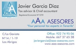 Tax Advisor Tenerife