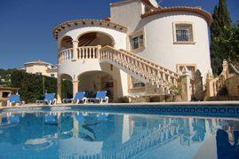 villa rental Moraira