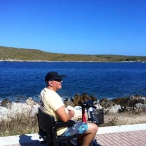 mobility scooter hire in menorca