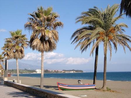beach at San Pedro de Alcantara