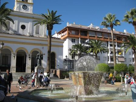 square at San Pedro de Alcantara