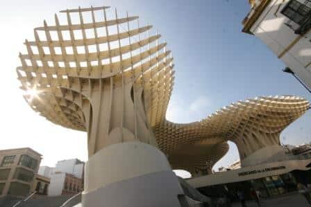 the mushroom seville - Las Setas - Metropol Parasol