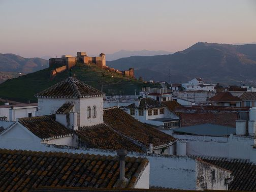 Alora, Spain fortress