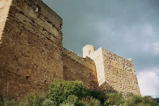 Castle of Forna, Adsubia, Spain