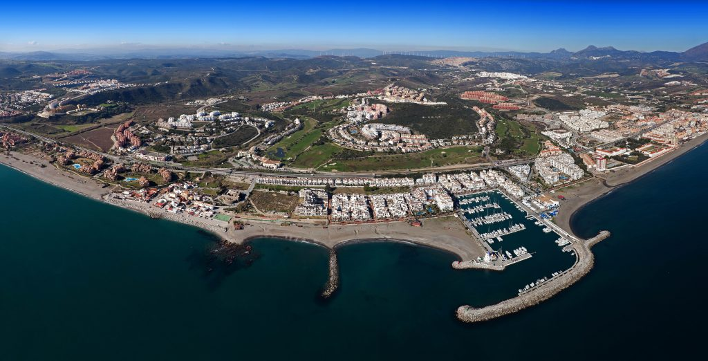 aerial view of La Duquesa