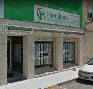 Hamiltons of London denia