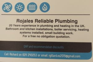 Rojales Reliable Plumbing