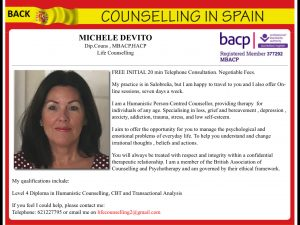 counselling spain