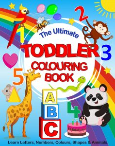 colouring book toddlers